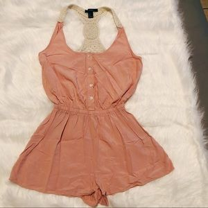 Forever 21 Baby Pink Romper